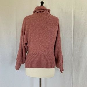 Casual Corner Sweaters - Casual Corner Sweater Small Pink Turtle Neck
